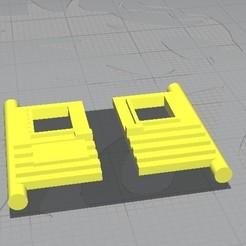Majorette N235.jpg Download STL file Majorette N235 Acadiane Back Doors • 3D printer model, rafaelnrlino