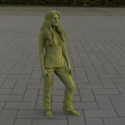 untitled.93.jpg Télécharger fichier STL Jordana Brewster - MIA TORETTO • Modèle imprimable en 3D, Stuff4Dioramas