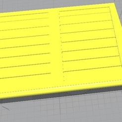 Matchbox N43.jpg Download STL file Matchbox N43 Pony Trailer Gate • 3D printer model, rafaelnrlino