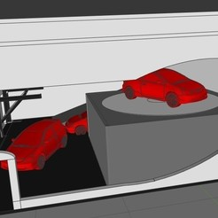 Télécharger fichier impression 3D 1/64 Stand Showroom Diorama, rafaelnrlino