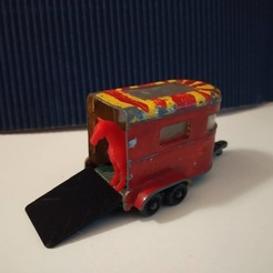 Télécharger fichier 3D Porte de remorque pour poney Matchbox, rafaelnrlino