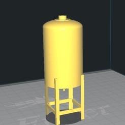 fff.jpg Download STL file 164 construction yard silo • 3D print design, rafaelnrlino