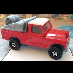 Télécharger objet 3D 164 Hot Wheels Land Rover III Pickup Dakar, rafaelnrlino