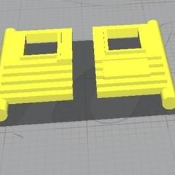 Matchbox N41.jpg Download STL file Matchbox N41 Ambulance Doors • 3D print model, rafaelnrlino