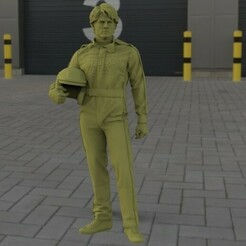 untitled.92.jpg Download STL file Cole Trickle - Tom Cruise days of thunder • 3D print design, Stuff4Dioramas