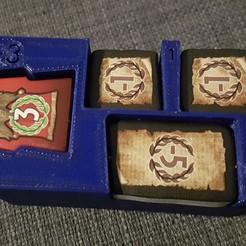 Archivos 3D Bandeja de juego de mesa de 7 maravillas, gohandal