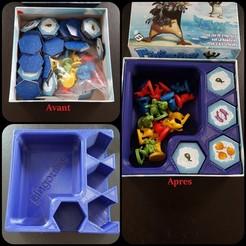 Descargar archivo 3D gratis Bandeja de juego de mesa PINGOUINS, gohandal