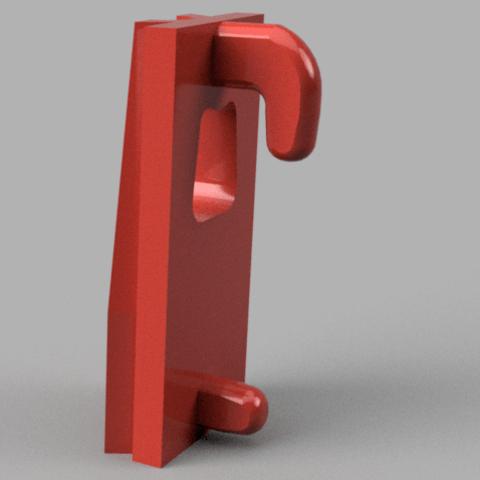 Free 3D printer model Ikea Skadis Hook, MFWIC3D