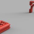 3D printer files Nerf Vulcan EBF-25 Pegboard Mount, MFWIC3D