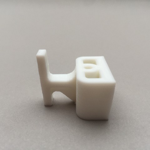 Télécharger plan imprimante 3D Patte de porte coulissante de douche, QB-Maker-Parts