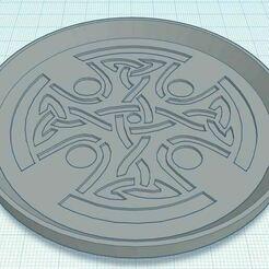 Capture.JPG Télécharger fichier STL gratuit Croix celtique 3 Sous-verre • Objet à imprimer en 3D, jcagle0810