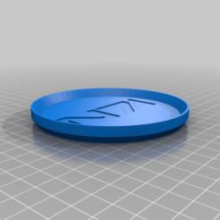 MassEffectN7CoasterStackable_2.png Download free STL file Mass Effect N7 Coaster Single Color Stackable • 3D printer design, jcagle0810