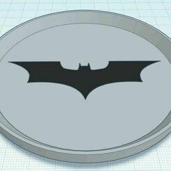 Capture.JPG Download free STL file Dark Knight Dual Color Coaster Stackable • 3D printing design, jcagle0810