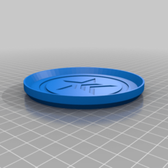 MassEffectRenegadeCoasterStackable_2.png Download free STL file Mass Effect Renegade Single Color Coaster Stackable • 3D printable design, jcagle0810