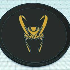 Capture.JPG Télécharger fichier STL gratuit Loki Casque sous-verre bicolore • Plan à imprimer en 3D, jcagle0810