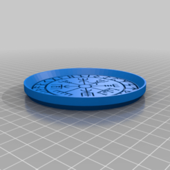 VikingCompassCoaster.png Download free STL file Viking Compass Coaster Dual Color • 3D printing template, jcagle0810
