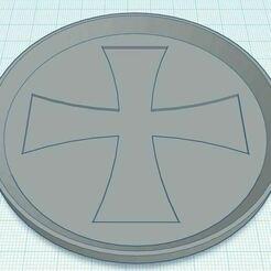 Capture.JPG Télécharger fichier STL gratuit Sous-verre de la Croix de Malte • Modèle imprimable en 3D, jcagle0810
