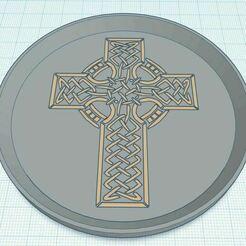 Capture.JPG Télécharger fichier STL gratuit Croix celtique 1 bicolore • Modèle pour imprimante 3D, jcagle0810