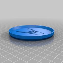LokiHelmetCoaster.png Télécharger fichier STL gratuit Loki Helmet Coaster • Objet à imprimer en 3D, jcagle0810