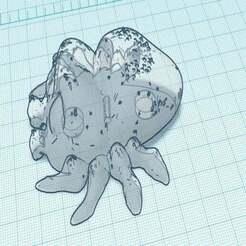 Lucas_The_Spider_Magnet.JPG Télécharger fichier STL gratuit Lucas L'araignée aimant les frigos • Design imprimable en 3D, jcagle0810
