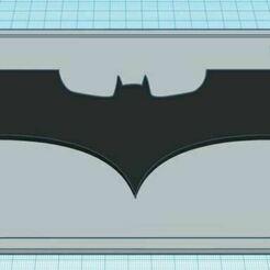 DarkKnightDualColorLicensePlate.JPG Download free STL file The Dark Knight Dual Color License Plate • 3D print template, jcagle0810