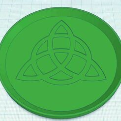 Capture.JPG Download free STL file Triquetra Celtic Knot Coaster Stackable • Model to 3D print, jcagle0810