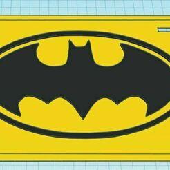 Capture.JPG Télécharger fichier STL gratuit Plaque d'immatriculation bicolore Batman • Design à imprimer en 3D, jcagle0810