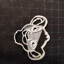 Impresiones 3D lion king cookie cutters, luisdasilvagarcia
