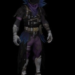 Descargar archivos 3D Cuervo Fortnite Raven, alexclavijo97