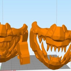 mask.jpg Download STL file MASCARA mask mempo hannya estilo Cyber punk • 3D printable design, alexclavijo97
