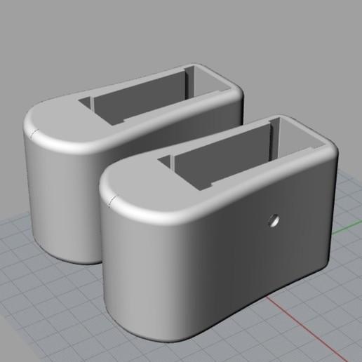 Download free STL file LEG OR FOLDING LADDER SUPPORT • 3D printer model, CUBRIMAGEN