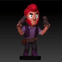 3D printer models Colt Brawl Stars, goupil331