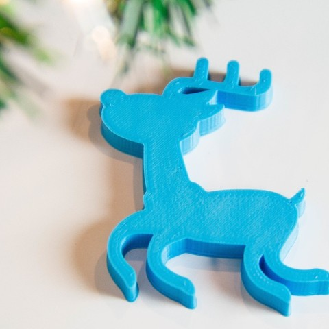 8a8bfb57f4cc9fef5a5d811633dca103_display_large.jpg Download free STL file ReindeerOrnament • 3D print template, Digitang3D