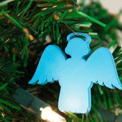 Download free 3D printer designs AngelOrnament, Digitang3D