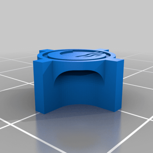 WaterNorth4StarPiece.png Download free STL file RiskPawnsAvatarTheLastAirbender • 3D printable object, Digitang3D