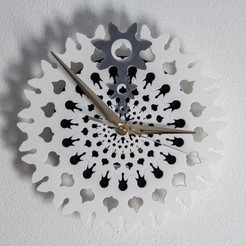 Download free 3D printing designs ClockGearPattern, Digitang3D