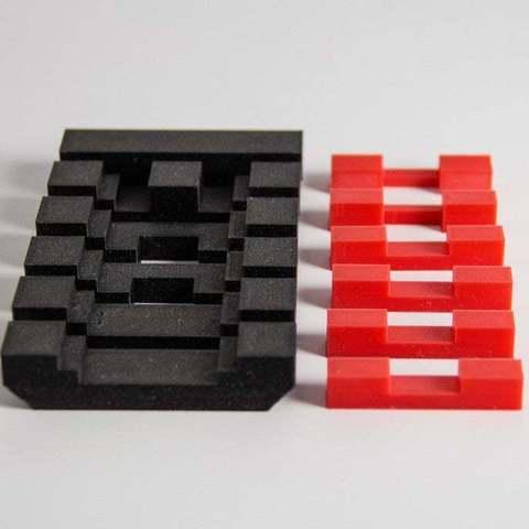 2b7113fc546e103afe8c417511f2e593_display_large.jpg Télécharger fichier STL gratuit InterlockingPuzzle • Modèle à imprimer en 3D, Digitang3D