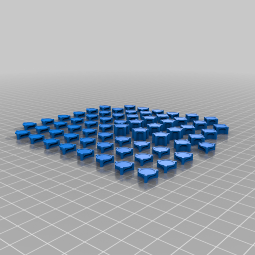 AllPieces.png Download free STL file RiskPawns • 3D print template, Digitang3D