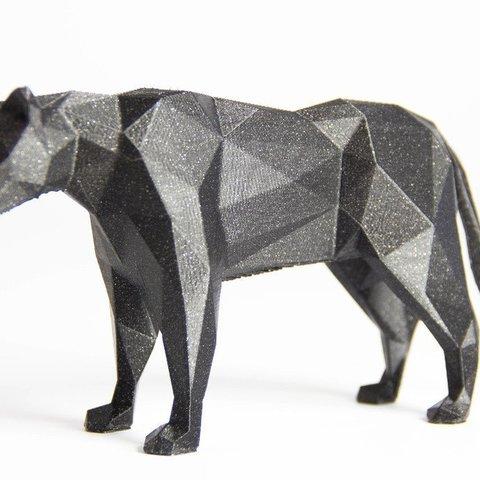Modelos 3D gratis LowPolyPanther, Digitang3D