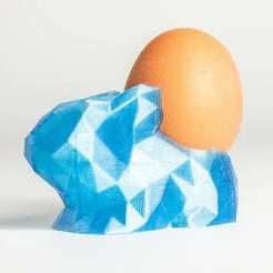 Télécharger modèle 3D gratuit EggHolderLowPolyBunny, Digitang3D