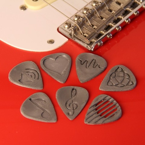 Download free 3D print files GuitarPicks, Digitang3D