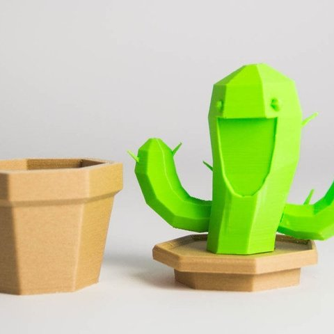 fc7f9d5233062f367610b365ee5256c6_display_large.jpg Download free STL file Smiling Cactus Container • Design to 3D print, Digitang3D
