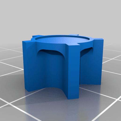 5StarPiece.png Download free STL file RiskPawns • 3D print template, Digitang3D
