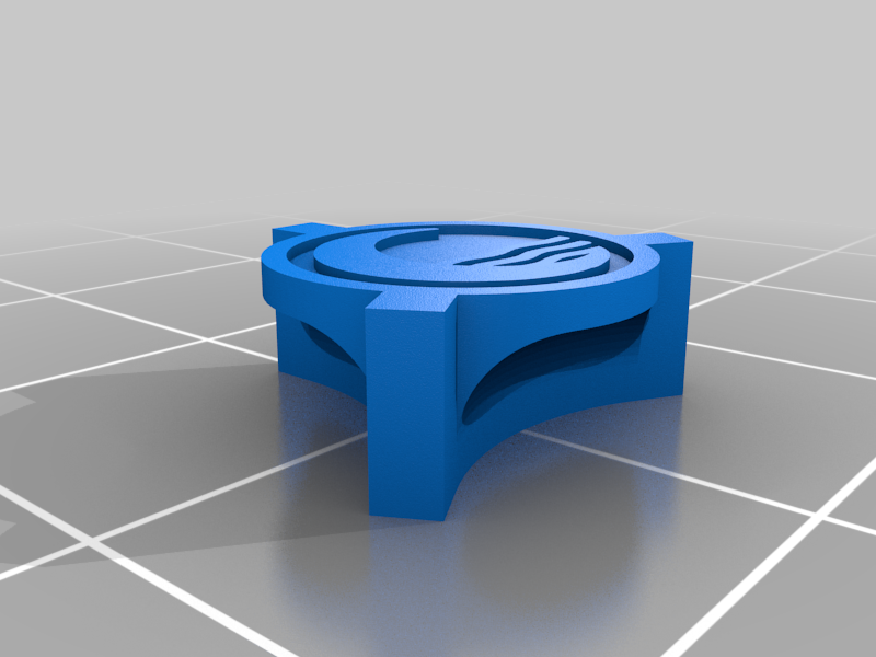 WaterNorth3StarPiece.png Download free STL file RiskPawnsAvatarTheLastAirbender • 3D printable object, Digitang3D