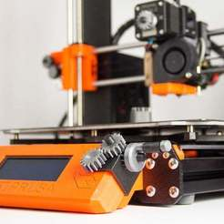 Download free 3D printer designs Prusa Gears Knob, Digitang3D
