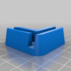 Remix_Pied_UM2_x1_mirrored.png Télécharger fichier STL gratuit Pieds / pied Ultimaker 2 • Design imprimable en 3D, arayel