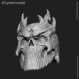 Modelos 3D Colgante cráneo vol 7, anshu3dartist