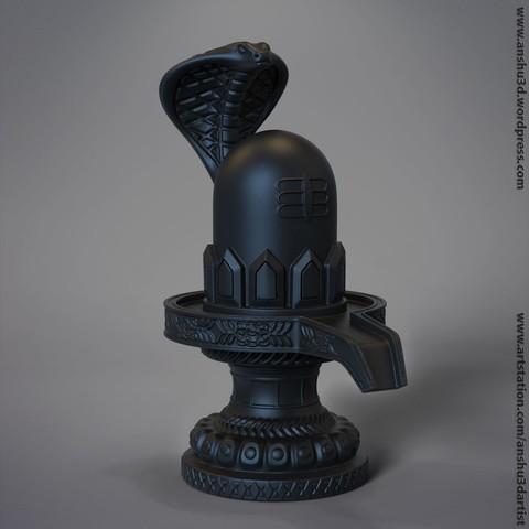 Shivling lord shiva ling 3d printable