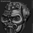 Impresiones 3D Colgante calavera robotizada vol1, anshu3dartist