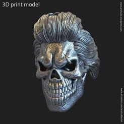 SB_vol4_k1(1).jpg Download STL file Skull Bearded vol4 Pendant • 3D printer model, AS_3d_art